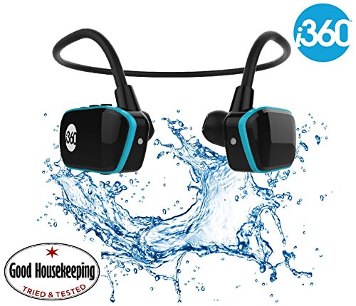 Swimming MP3 Player Underwater Waterproof to 3 Meters - Wireless Earphones...