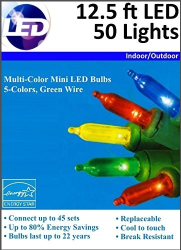 White Led Christmas Lights Target - 8
