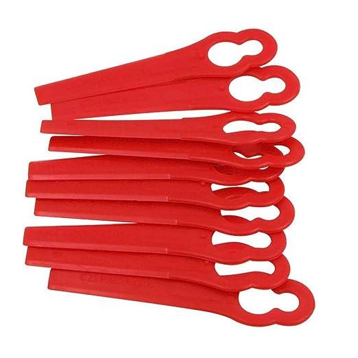 LIWEISDSDFS - Cuchillas de plástico para cortadora de césped ...
