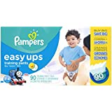 Pampers Easy Ups Training Pant Diapers for Boys