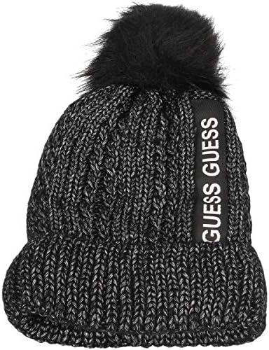 Guess Damen Yasmina Hat Sunhat Noir De Jais Jblk Schwarz Size Herstellergr/ö/ße: One