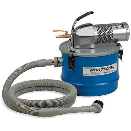 Nortech Air-Powered Vac - 4-Gallon Capacity