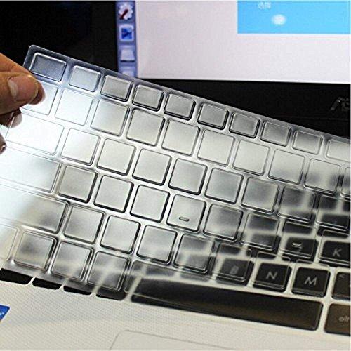 Saco Chiclet Keyboard Skin for MSI GL63 8RD-455IN 2018 15.6-inch Laptop - TPU