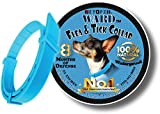 Vet Pet Flea Collar for Dogs - All Natural Flea and Tick Prevention - Cinnamon Scented - 8 Month Flea and Tick Control - One-Size-Fits-All - Hypoallergenic with All Natural Essential Oils