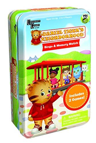 Toy Series Tin Classic (Daniel Tiger's Neighborhood Bingo & Memory Match Tin)