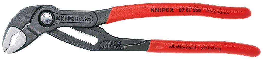 クニペックス KNIPEX 8701-250 コブラ ウォーターポンププライヤー