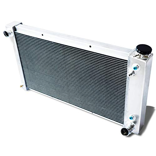 CoolingCare 56MM 3 Row Core Aluminum Radiator for GMC&Chevy C/K 10 20 30 Pickup Truck Van 1967-72