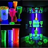 LED Black Light, LECIEL 10W Portable Blacklight for Poster, Art, Bedroom, for Halloween and Blacklight Parties
