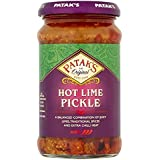 Patak's Hot Lime Pickle - 283g (pack of 2)