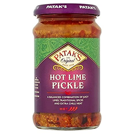 Amazon.com : Patak's Hot Lime Pickle - 283g : Grocery & Gourmet Food