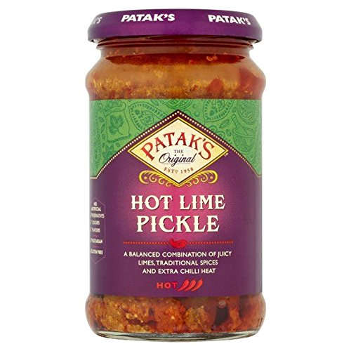 Patak's Hot Lime Pickle - 283g (pack of 2) by Patak's