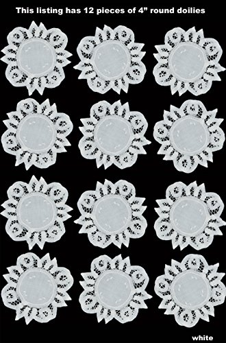 Doily Battenburg - Creative Linens 12PCS 4