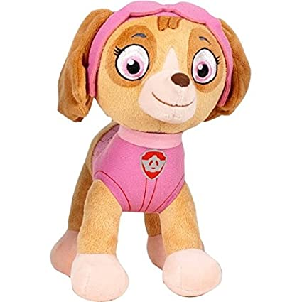 Play by play - Peluche patrulla canina - skye 27 cm