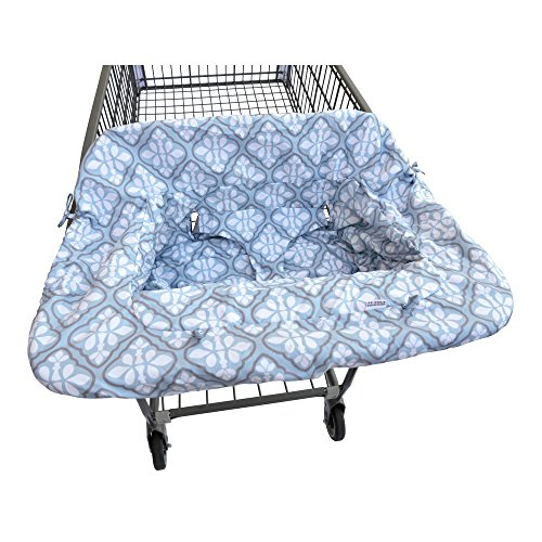 Jj Cole Shopping Cart Cover Blue Iris
