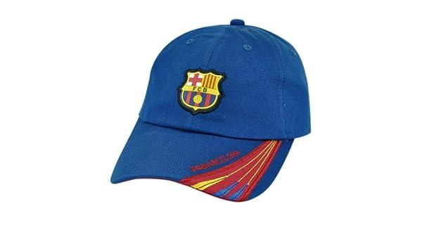Barca España Espana Barcelona chewybuy escudo fútbol Clip hebilla sombrero Gorra sienres Futbol: Amazon.es: Deportes y aire libre
