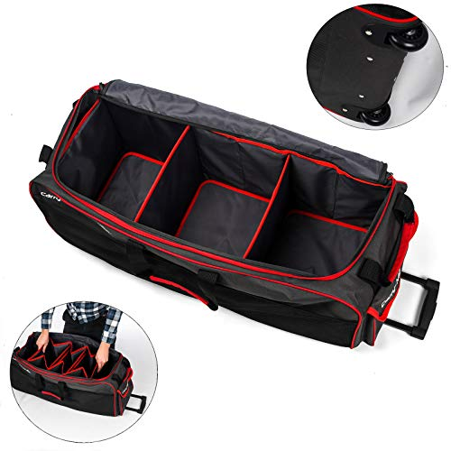 Roamwild Carry-More Heavy Duty Large Equipment Rolling SUV/Camera/Duffel Bag Perfect for Photography SUVs Sales Reps and Gym Equipment