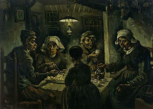 (Vincent Van Gogh The Potato Eaters Van Gogh Museum 30