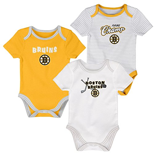 Onesies Layettes (OuterStuff NHL Boston Bruins Layette Newborn