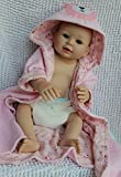 full silicone baby - Lifelike Reborn Baby Bathing Girl Alive Full Silicone Washable Doll Nursing Training Toy,20-Inch