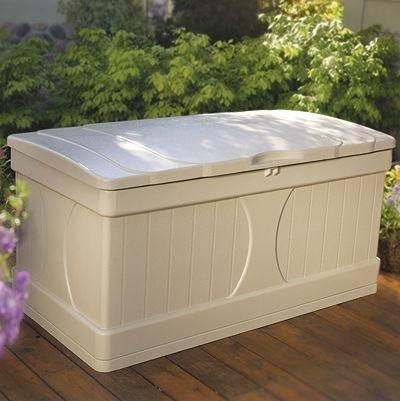 Deck-Scatola portaoggetti, misura XL, ideale per la piscina ...