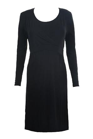 224e802a25adf *UK* Black Empire Maternity and Nursing Dress - Small to Plus Size -  Pregnancy: Amazon.co.uk: Clothing
