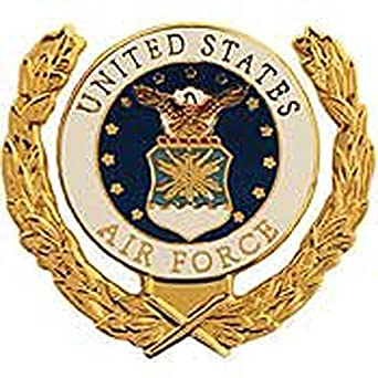 : Metal Lapel Pin US Air Force Pin & Emblem US Air Force Logo Wreath 1 316: Clothing