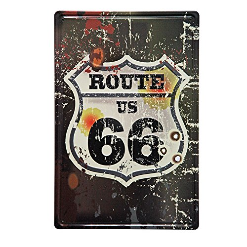 Route 66 wall decor