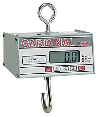 Detecto HSDC-40 Digital Hanging Scale, 40 lb. Capacity
