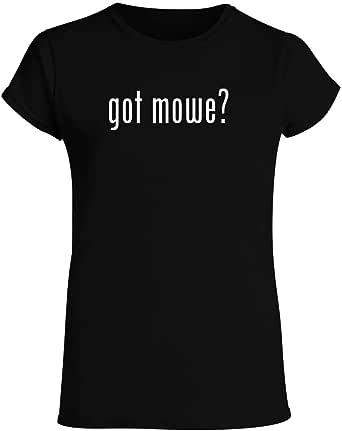 got mowe? - Women's Crewneck Short Sleeve T-Shirt
