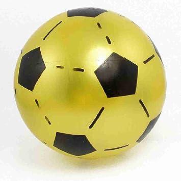Move hechaTM negra y amarilla de pelota de juguete con lona de PVC ...