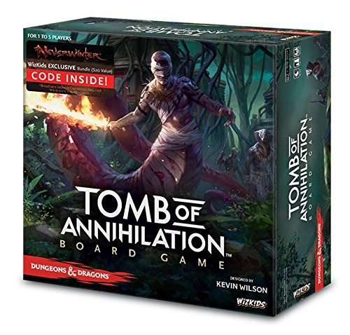 WizKids Dungeons & Dragons: Tomb of Annihilation Adventure System Board Game ()