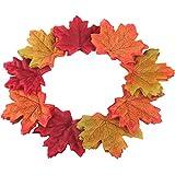 Gtidea 300pcs Artificial Fall Maple Leaves Silk Petals - Best Reviews Guide