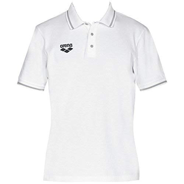 Arena Team Line Short Sleeve Polo,White (10),L: Amazon.es ...