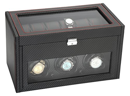 UPC 730792703734, Diplomat 34-703 Modena Handmade Leather Synthetic Watch Winder