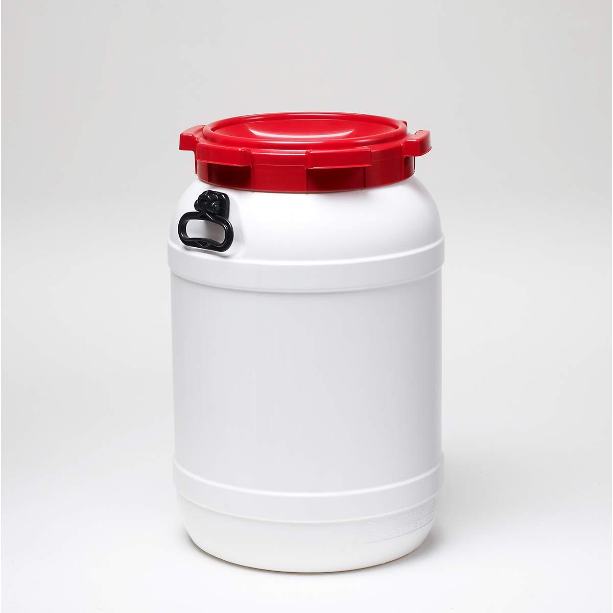Certeo Weithalsfass 68l - Inhalt 68 Liter - Fass Kunststofffass Rundfass Standfass Weithalstonne Tonne