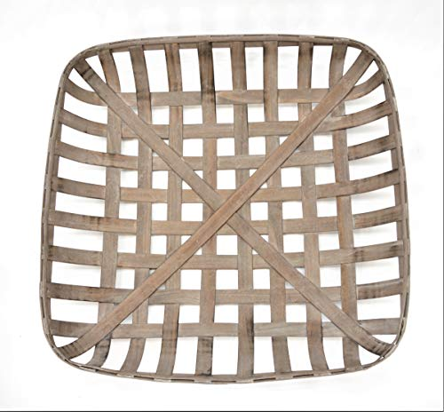 Silvercloud Trading Co. Tobacco Basket, Farmhouse Decor, Large 25