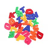 78x Uppercase Lowercase Alphabet English Letters Numbers Refrigerator Magnetic Learning Toys