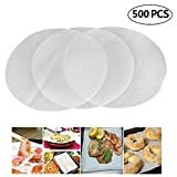 (Set of 500) Non-Stick Round Parchment Paper 12 Inch Diameter,Baking Paper Liners for Round Cake Pans Circle