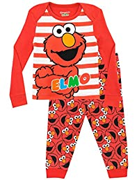 Sesame Street Girls' Elmo Pajamas