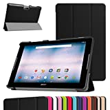 Acer Iconia One 10 B3-A30 Slim Shell Case,Mama Mouth Ultra Lightweight PU Leather Standing Cover For 10.1