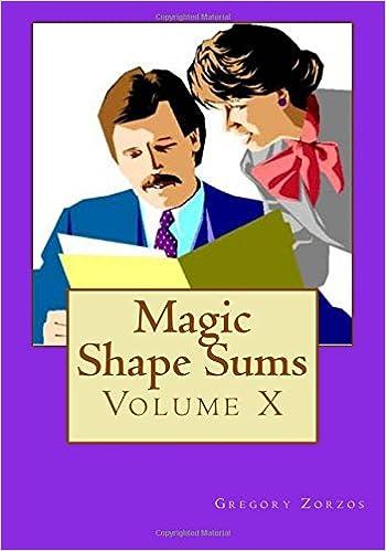Magic Shape Sums: Volume X