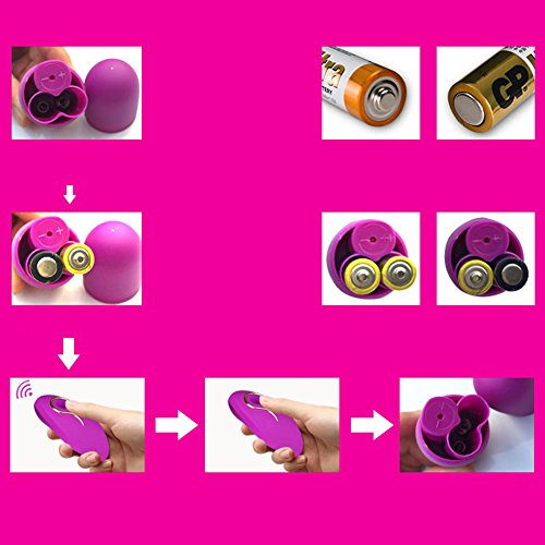 Single Hop Egg Wireless Remote Control 20 Frequency Female Fun Adult Products by m a n n u o / MAN NUO (Image #4)
