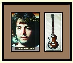 Amazon Com Paul Mccartney Guitar Shadowbox Shadow Box