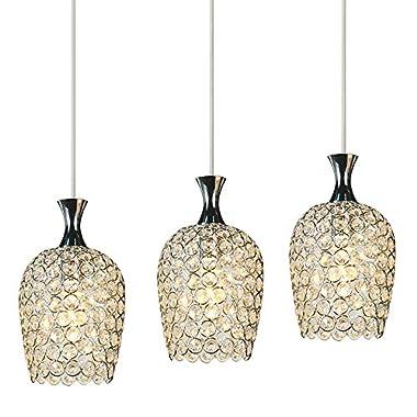 DINGGU™ Modern 3 Lights Crystal Chandelier Pendant Light Fixtures