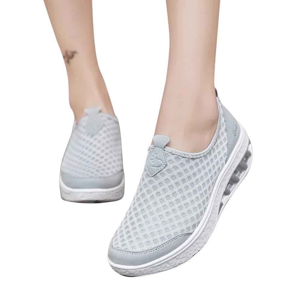 ❤️ Zapatillas de Mujer, Zapatillas de Deporte de Malla al Aire Libre Zapatillas de Deporte de Suela Gruesa Zapatillas de Deporte de Malla Absolute