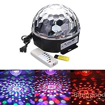 Detalles Buyhappy 6 LED luz láser proyector de fiesta para ...