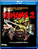 Demons 2 (Blu-ray) cover.