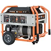 Factory-Reconditioned Generac 5798R XG Series 7,000 Watt Electric-Manual Start Portable Generator