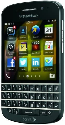 Amazon Com Blackberry Q10 Black 16gb Sprint