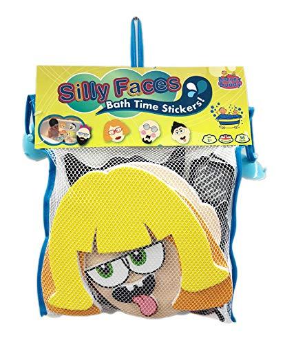 Barney & Buddy BA007 Silly Faces Bath Stickers